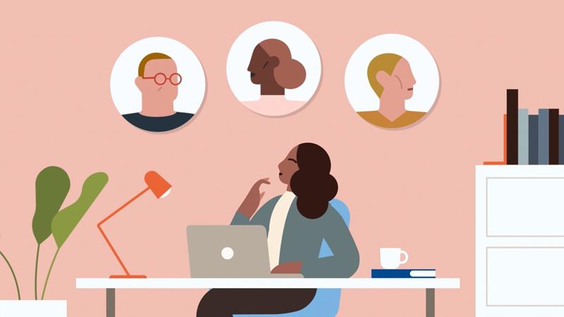 Odświeżony styl identyfikacji wizualnej Linkedin 2019
