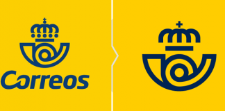 Rebrending hiszpańskiej poczty Correos - nowe logo 2019