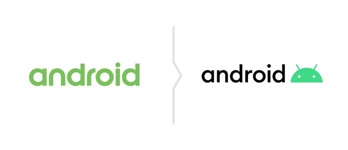Rebranding Android - nowe logo 2019